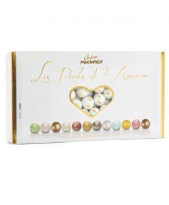 confetti maxtris le perle white e gold