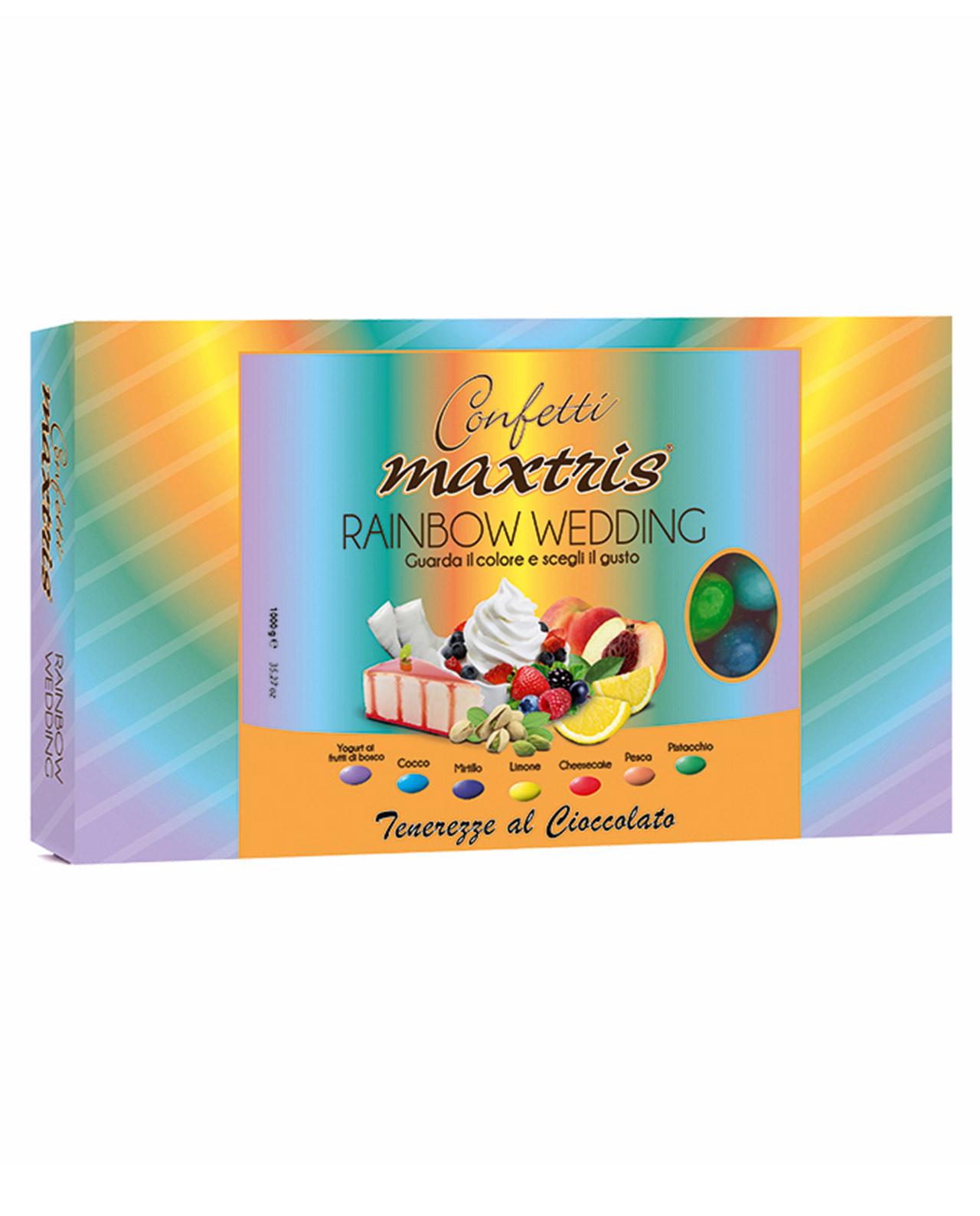 Confetti maxtris rainbow wedding mobilia store home for Mobilia wedding