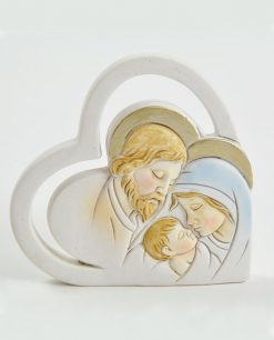 cuore icona sacra famiglia grande
