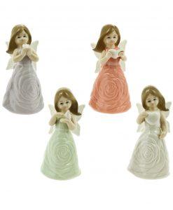 fatine in porcellana 4 colori assortiti