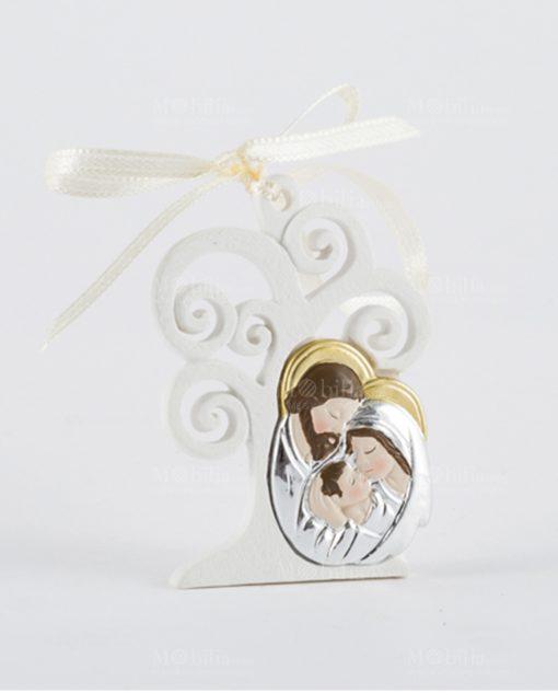 icona albero della vita con sacra famiglia e magnete