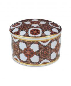 scatolina in porcellana con gomma arabica diana baci milano