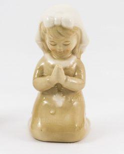 sculturina bambina che prega grande