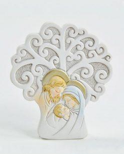 albero della vita con sacra famiglia