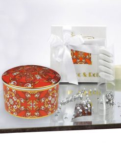 bomboniera scatolina in porcellana carlotta baci milano 1
