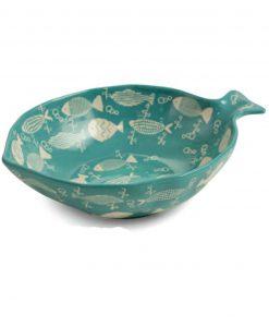 ciotola pesce in ceramica
