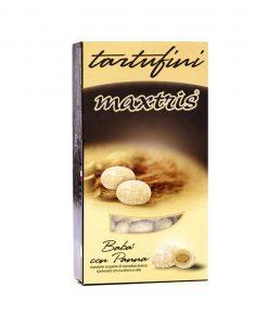 confetti maxtris tartufini babà con panna