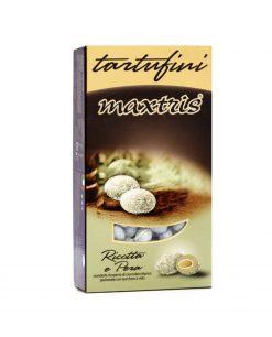 confetti maxtris tartufini ricotta e pera