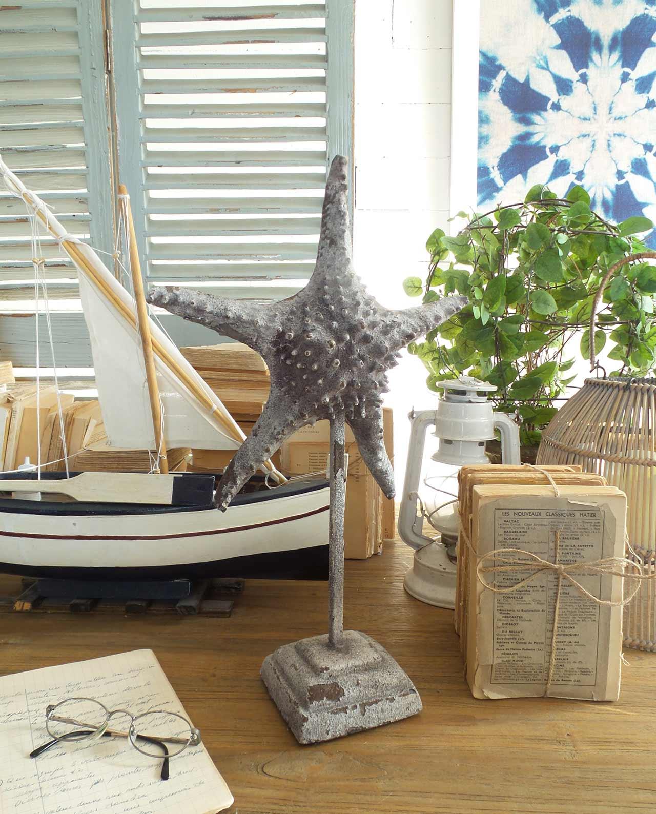 Stella Marina In Ceramica Decorazione Da Tavolo Mobilia