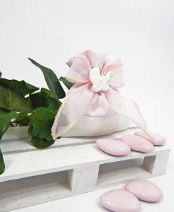 sacchettino rosa con carrozzina 1