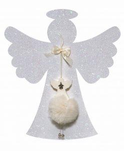 saponetta angelo con spugna in rete bianca