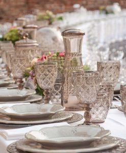 servizio da tavola stile barocco