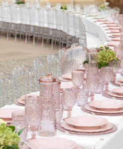 tavola collezione decomel rosa