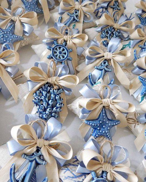 linea panarea ad emozioni ciondoli blu ceramica