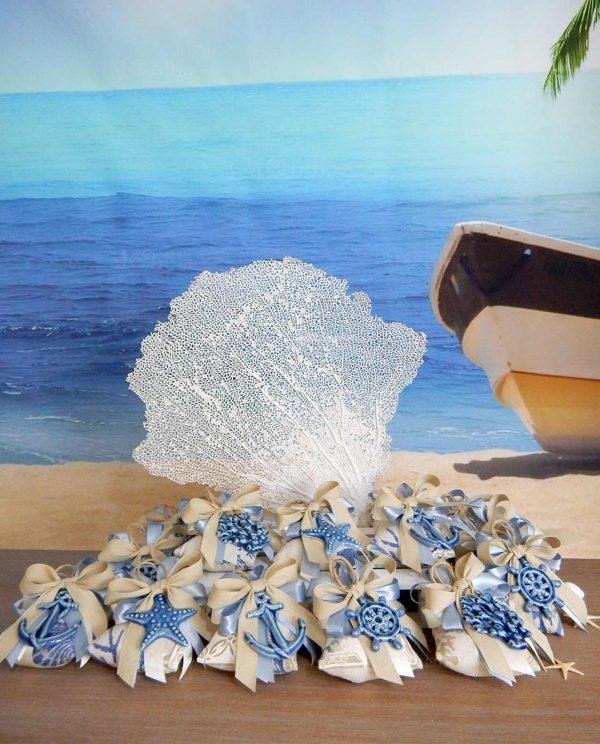 pendenti panarea blu con sacchettino