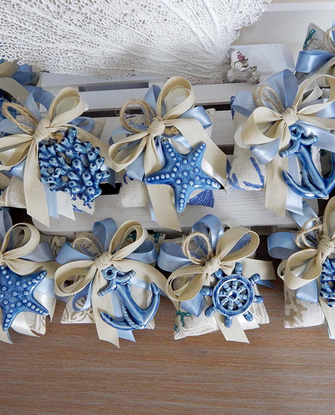 Bomboniera pendenti blu linea panarea mobilia store home favours - B b porta di mare ...