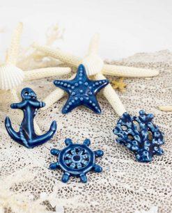 calamita soggetti marini assortiti blu