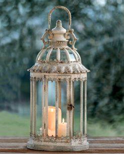 lanterna in metallo e vetro giostra brandanijpg