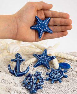 magneti blu tema mare vari modelli