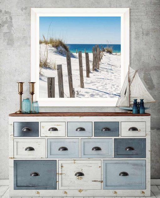 stampa mare e spiaggia