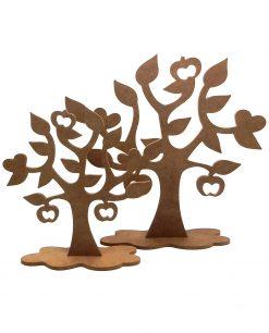 alberi in legno decorativo per allestimenti