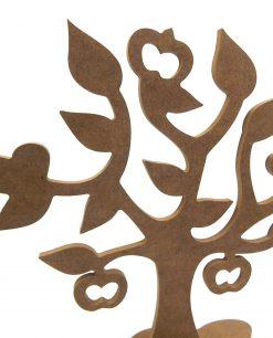 albero decorativo in legno
