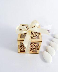 bomboniera scatolina portaconfetti albero della vita