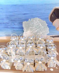 bomboniere lanterne albero della vita tema mare