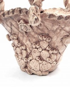 coffe in ceramica di caltagirone anticchizzate con fichi dindia e trinachia