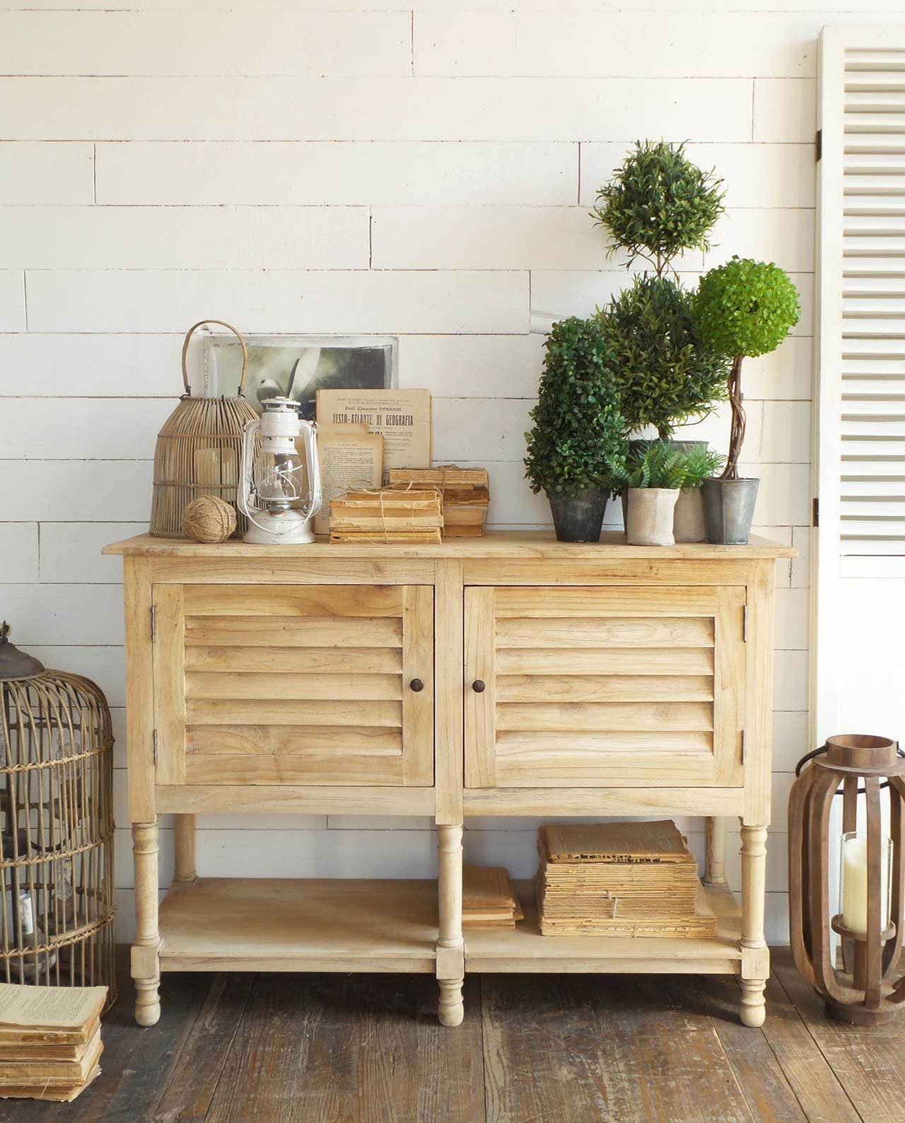 Mobile consolle in legno 2 ante mobilia store home favours for Consolle legno