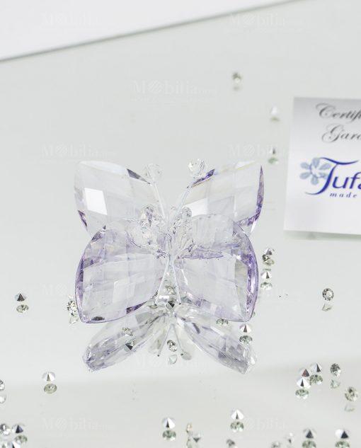 farfalla cristallo tufano