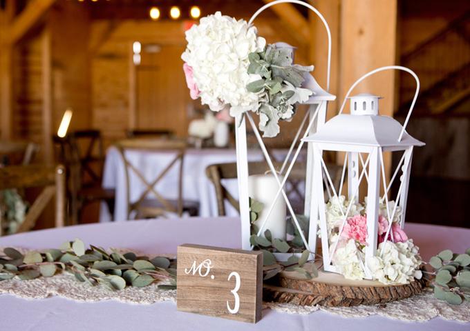 matrimonio tema lanterne