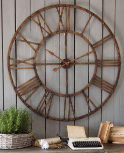 orologio marrone stile industrial