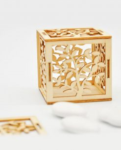 scatolina albero della vita legno