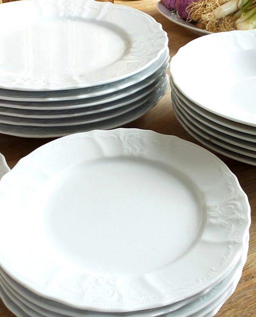 servizio piatti ceramica linea ramage