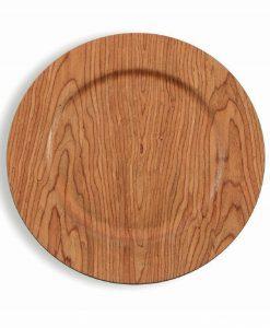 sottopiatto legno