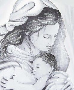 capezzale maternità moderno con swaroski