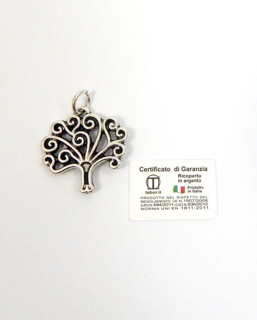 ciondolo albero della vita argento tabor
