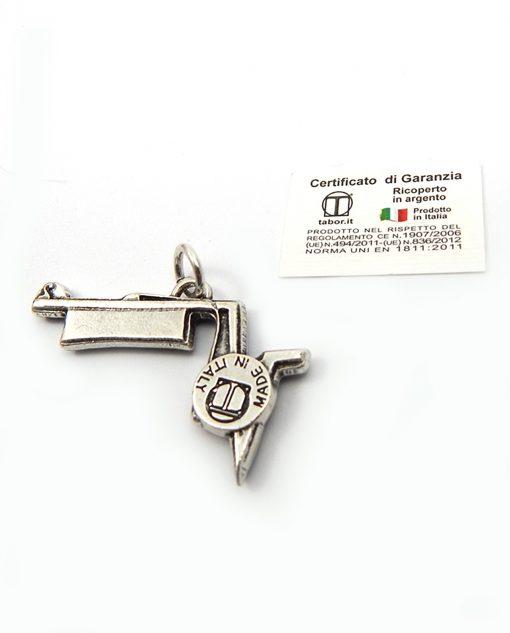 ciondolo argento italiano per bomboniere laurea matematica