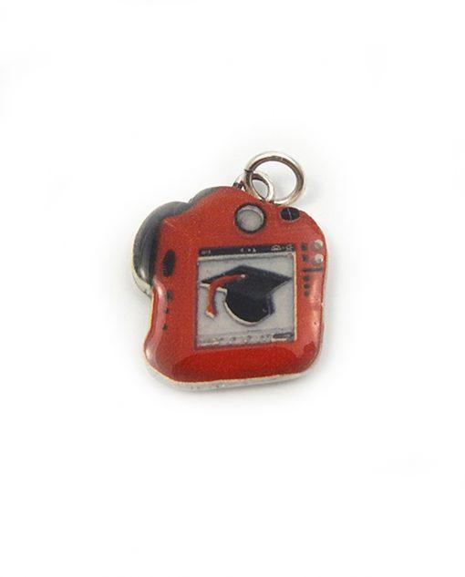 ciondolo fotocamera per bomboniere laurea tabor
