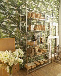 libreria manhattan vetro e metallo