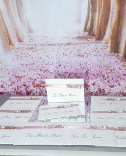 partecipazioni matrimonio con fiocco