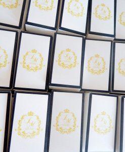 scatolina portaconfetti cartoncino personalizzata