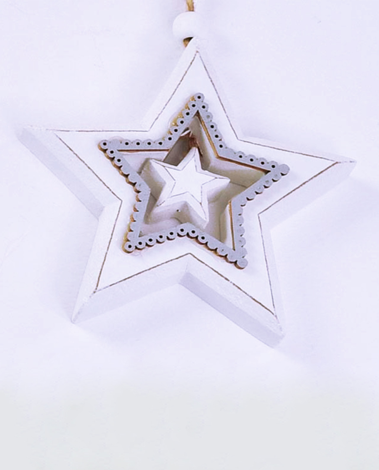 Stella Di Natale Legno.Stella Di Natale In Legno Perfect Bipy Decorazioni Di Natale