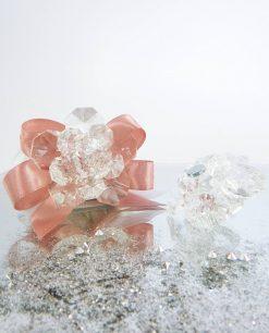 bomboniera calamita fiore cristallo tufano