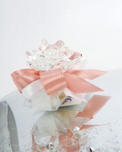 bomboniera fiore cristallo swarovski