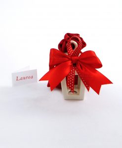 bomboniera-lanterna-portacandela-piccola-porcellana-bianca-con-sacchettino-rigato-rosso