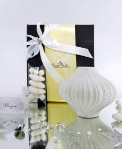 bomboniera natale miniatura vaso plisse rosenthal