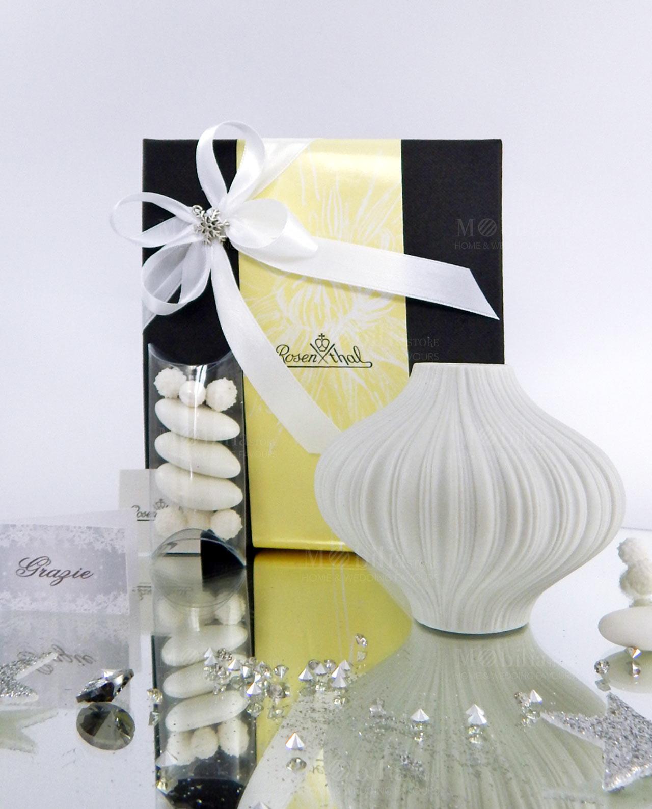 bomboniera minivaso design plisee rosenthal mobilia