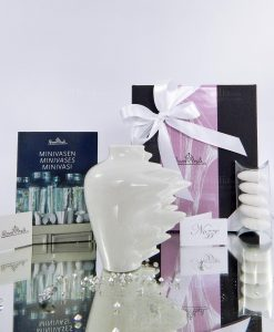bomboniera vaso in porcellana bianca fast rosenthal
